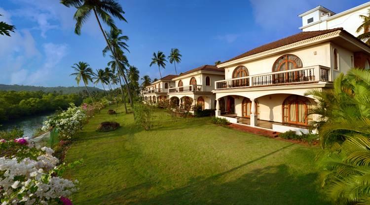 Resort Rio on the banks of Baga river